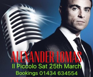 Alexander Lomas Swing Night at Il Piccolo