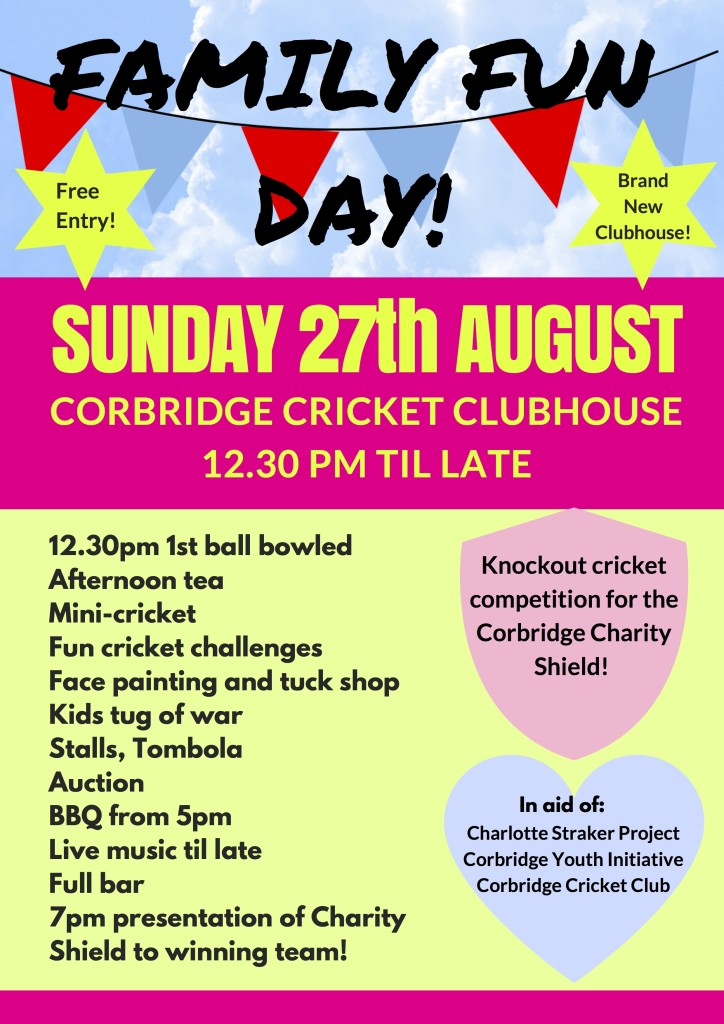 CHARITY FUN DAY CRICKET CLUBHOUSE v1