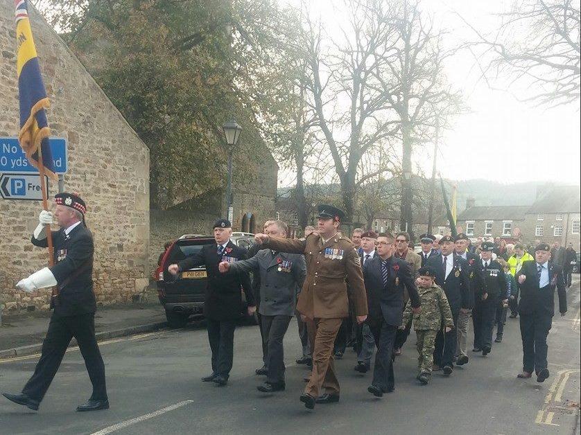 Corbridge Remembrance Day Parade