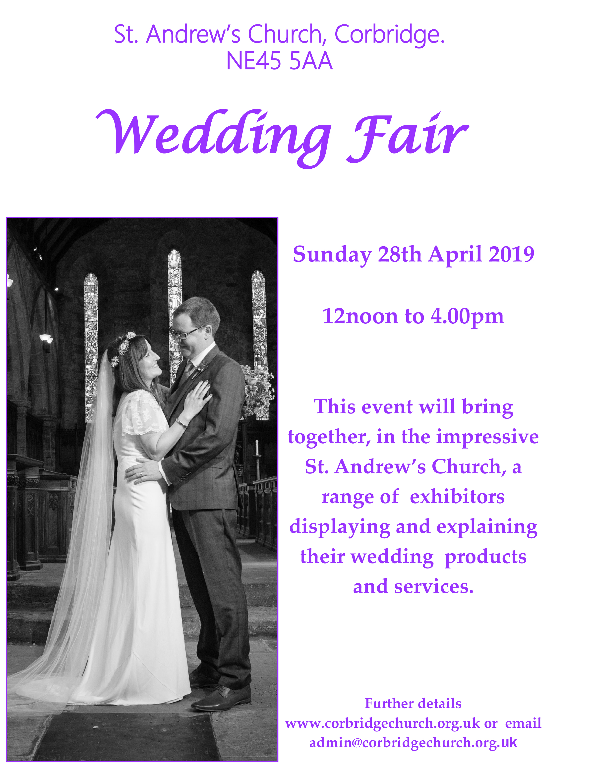 Corbridge Wedding Fair 2019